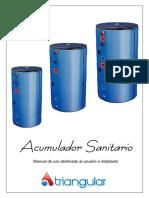 Manual Acumulador Sanitario (Simple - Doble Serpentina)