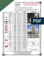 THANG 9 -2016 - DOT 3 - KHỐI 10,11,12 NAM 2016