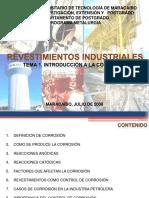 Revestimientos Industriales Tema i