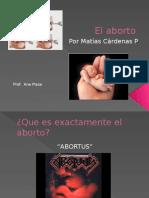 El Aborto Presentacion Maty