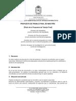 Formato Propuesta Trabajo Final 2016