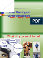 Career Planning and Management