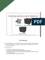 4. Powder Metallurgy