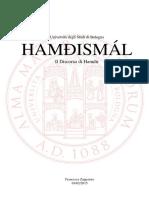 Hamdhismál