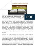 A Bíblia e a Homossexualidade _ O Peregrino