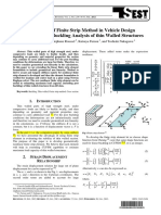 Application of finite strip method in vehicle design Part 2 of 2-Post buckling analysis of thin walled structure.pdf