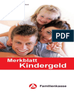 Merkblatt Kindergeld 01.16