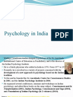 2016 Indian Psychology vs Psychology in India