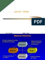 Materials (Metals)