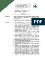 SK Kebijakan Pengendalian Dokumen