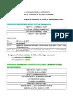 05. Lista Selecionados Para Entrevista Edital 001-2016-Nte-3
