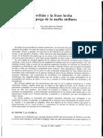 Derecho y Mafia Siciliana