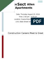 Christa Construction Meet & Greet