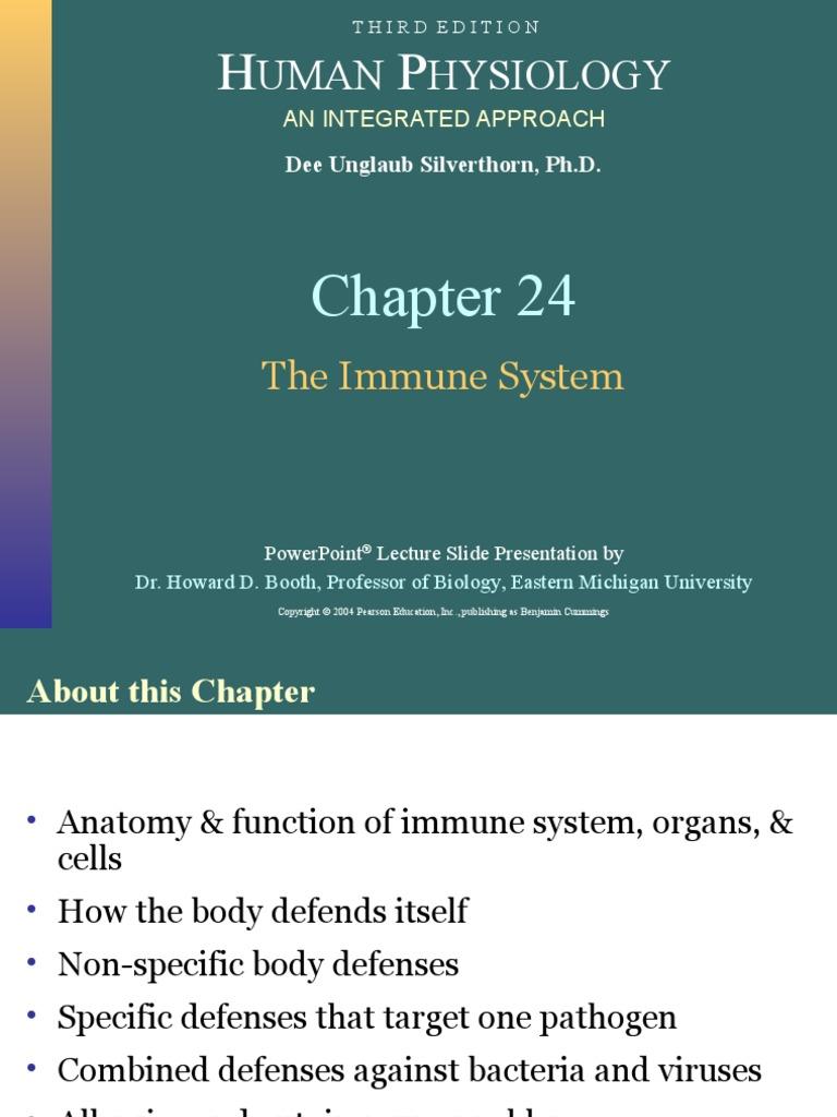 Tolle Anatomy And Physiology Of Immune System Ppt Zeitgenössisch ...
