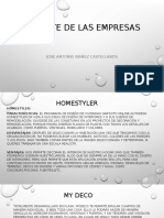 Reporte de Las Empresas