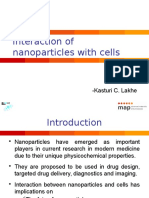 Interaction of Nanoparticles With Cells