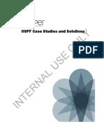 OSPF Case Studies
