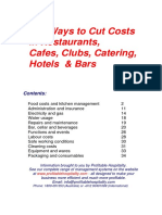 Cost Cutting Ideas