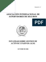 Estandar Sobre Gestion de Activos y Pasivos ALM Mexico