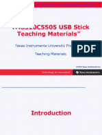 Chapter 0 Introduction to TMS320C5505 USB Stick