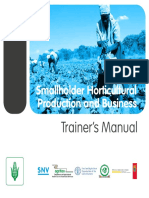 Horticulture Trainers Manual Vvip