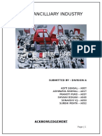 PGDM 07 - A Auto Ancilliary Industry Analysis Report - Stage 1