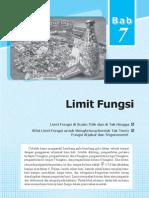 Limit Fungsi XI IPA