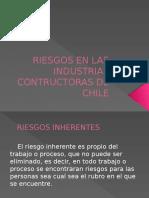Riesgos en Las Industrias Contructoras de Chile