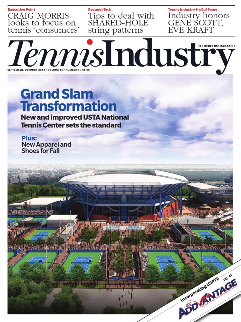 201609 Tennis Industry Magazine Retail Walmart Racquet Diagrams Fame Hall Inductee International