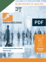Revista Gestión de Personas y Tecnología - Agosto 2014