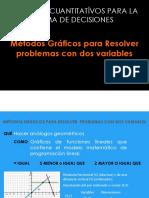 MÉTODOS GRÁFICOS PARA RESOLVER