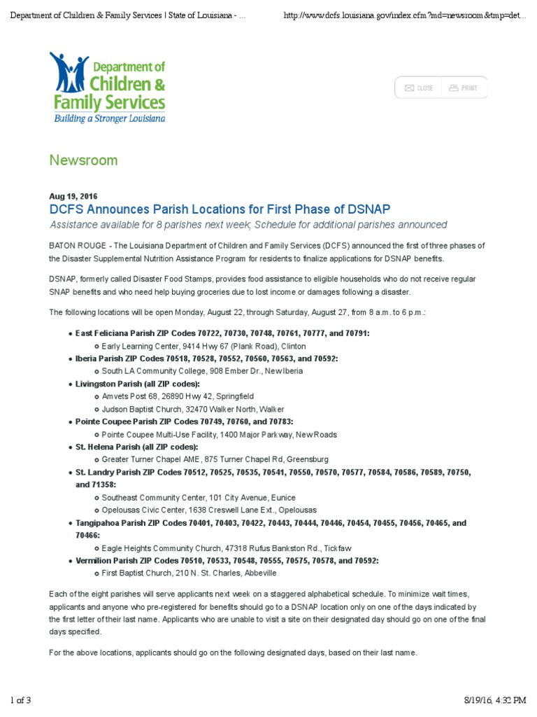 Department of children family services state of louisiana services state of louisiana department of children family services state of louisiana supplemental nutrition assistance program politics ccuart Choice Image