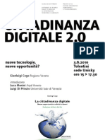 2010 Luglio Cittadinanza digitale 2.0
