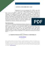 Fisco e Diritto - Corte Di Cassazione n 26636_2009