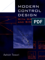 53680598 Modern Control Design With MATLAB and SIMULINK