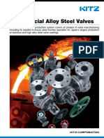 Special Alloy Steel Valve