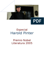 (Nobel 2005, UK) Harold Pinter - Retorno Al Hogar