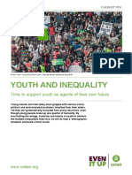 OXFAM - Youth and Inequality - 2016