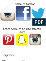 Redes Sociales Basicas