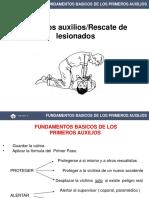 Primeros Auxilios-rescate de Lesionado