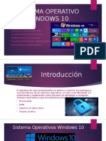 2 Sistema Operativo Windows 10