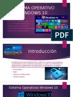 2 Sistema Operativo Windows 10