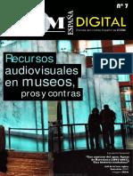 Recursos Audiovisuales en Museos, Pros y Contras