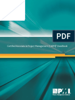 Certified Associate Project Management Handbook