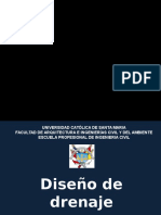 9. Diseño de Drenaje