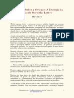 Martinho Lutero - Uma lição sobre a verdade Teologia cruz.pdf