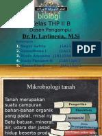 Mikrobiologi tanah