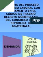 73689055 Esquema Del Proceso Ordinario Laboral