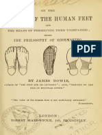 Motion of the Human Feet