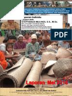 Monthly Individual Report - P3MD - Stephanus Mulyadi - TA PSD Kapuas Hulu-Mei 2016
